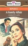 A Family Affair - Charlotte Lamb