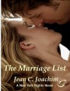 The Marriage List (New York Nights #1) - Jean C. Joachim,  Katherine Tate