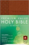 Premium Value Slimline Bible NLT - Produced by Tyndale House Publishers Staff