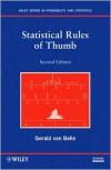 Statistical Rules of Thumb - Gerald van Belle