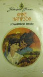 Unwanted Bride - Anne Hampson