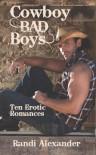 Cowboy Bad Boys - Randi Alexander