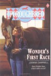 Wonder's First Race (Thoroughbred Series #3) - Joanna Campbell