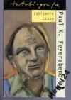 Zabijanie czasu - Paul K. Feyerabend