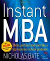 Instant MBA - Nicholas Bate