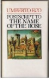 Postscript to the Name of the Rose - Umberto Eco
