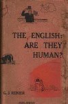 The English: Are They Human? - Gustaaf Johannes Renier