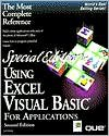 Using Excel Visual Basic for Applications (Special Edition) - Jeff Webb