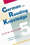 German for Reading Knowledge - Hubert Jannach;Richard Korb