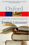 The Concise Oxford Companion to English Literature - Margaret Drabble, Jenny Stringer