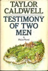 Testimony of Two Men by Caldwell, Taylor published by Doubleday Hardcover -