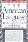 The American Language - H. L. Mencken
