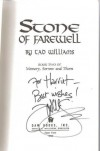 Stone of Farewell  - Tad Williams, Tao Williams