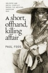 Short, Offhand, Killing Affair - Paul Foos