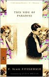 This Side of Paradise - F. Scott Fitzgerald, Susan Orlean