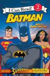 Batman: Meet the Super Heroes (I Can Read) - Michael Teitelbaum, Steven E. Gordon
