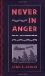 Never in Anger: Portrait of an Eskimo Family - Jean L. Briggs