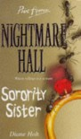 Sorority Sister (Nightmare Hall, #10) - Diane Hoh