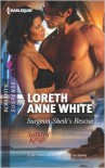 Surgeon Sheik's Rescue (Harlequin Romantic Suspense Series #1721) - Loreth Anne White