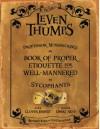 Professor Winsnicker's Book of Proper Etiquette for Well-mannered Sycophants - Obert Skye, Clover Ernest