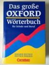 Grosse Oxford Worterbuch Fur Schule und Beruf - Oxford University Pres
