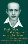 Todesfuge und andere Gedichte - Paul Celan, Barbara Wiedemann
