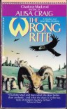 The Wrong Rite (A Madoc and Janet Rhys Mystery) - Charlotte MacLeod;Alisa Craig