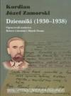 Dzienniki, 1930-1938 - Kordian Jaozef Zamorski