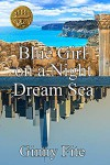 Blue Girl on a Night Dream Sea - Ginny Fite
