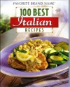 100 Best Italian Recipes - Unknown