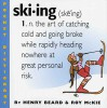 Skiing (Pocket Dictionary) - Roy McKie, Henry Beard
