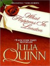 What Happens in London (Bevelstoke, #2) - Julia Quinn