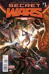 Secret Wars #1 of 8 First Printing - Esad Ribic, Jonathan Hickman
