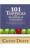 101 Top Picks for Home school Curriculum - Cathy Duffy