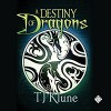 A Destiny of Dragons  - By (author) TJ Klune, Michael Lesley