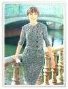#0094 PLAZA ESPANA DRESS VINTAGE CROCHET PATTERN (Single Patterns) - Princess of Patterns
