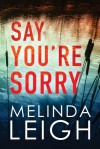 Say You're Sorry (Morgan Dane) - Melinda Leigh