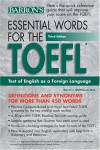 Essential Words for the TOEFL - Steven J. Matthiesen, Charles W. Stansfield