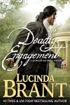 Deadly Engagement: A Georgian Historical Mystery (Alec Halsey Mystery Book 1) - Lucinda Brant
