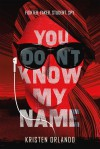 You Don't Know My Name - Kristen Orlando