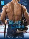 Blue Lines (Assassins, #4) - Toni Aleo
