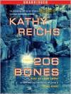 206 Bones (Temperance Brennan Series #12) -