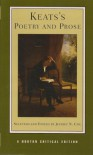 Keats's Poetry and Prose (Norton Critical Editions) - John Keats, Jeffrey N. Cox