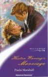 Hester Waring's Marriage (Mills & Boon Historical) - Paula Marshall