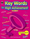Key Words for High Achievement - R.  Fitzgerald
