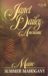 Summer Mahogany (Maine, Americana, #19) - Janet Dailey