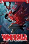 Vampirella (2017) #0 - Paul Cornell, Jimmy Broxton