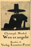 Wen es angeht: Gedichte (Broschur ; 53) (German Edition) - Christoph Meckel
