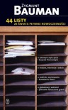 44 listy ze świata płynnej nowoczesności - Tomasz Kunz, Zygmunt Bauman