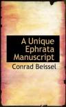 A Unique Ephrata Manuscript - Conrad Beissel